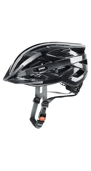 UVEX i-vo c Helm black-dark silver